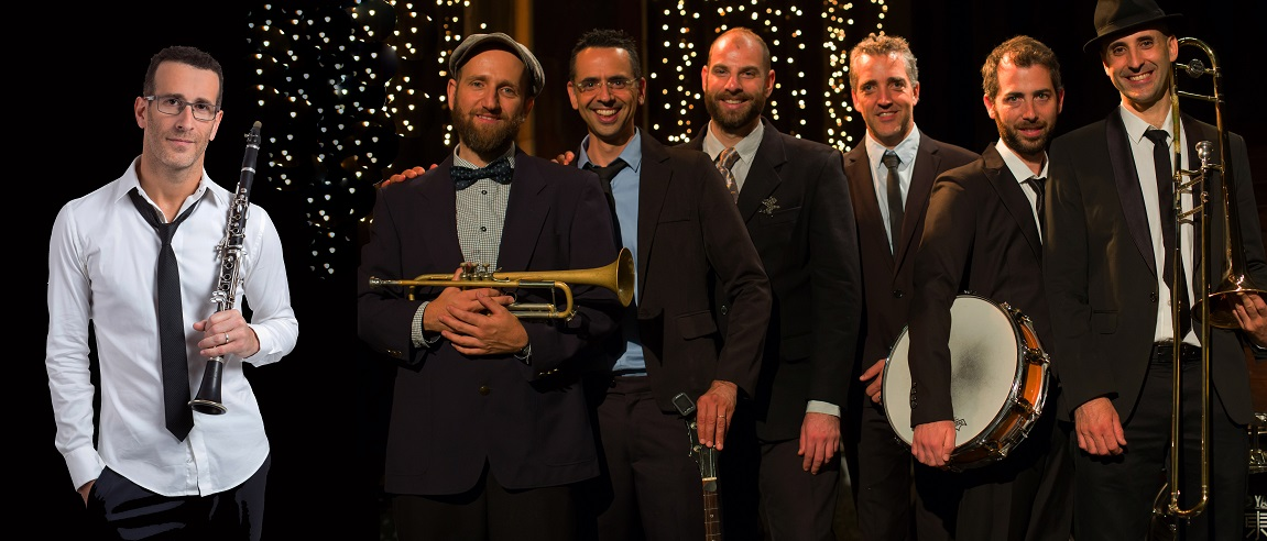 GILAD HAREL & THE NEW ORLEANS FUNCTION JAZZ BAND